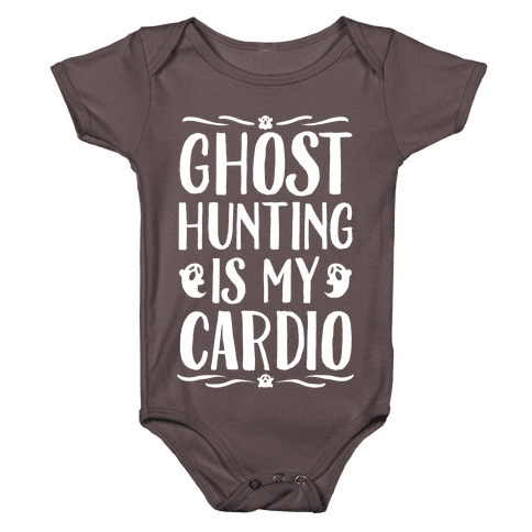 Ghost Hunting Is My Cardio Baby One-Piece