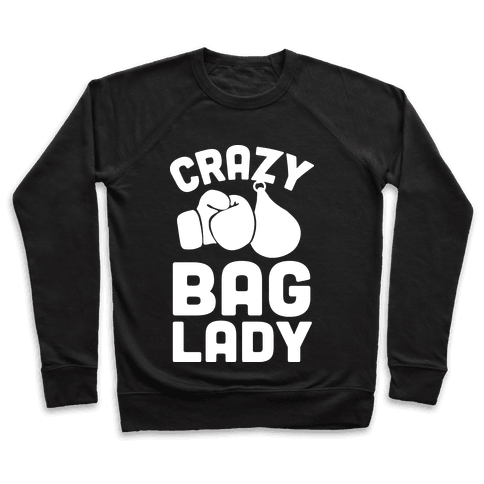 Crazy Bag Lady Pullover