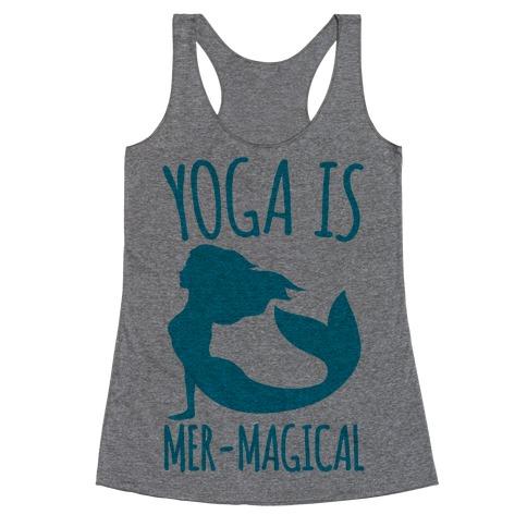 Yoga Is Mer-Magical Racerback Tank Top