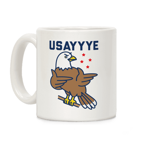 USAYYYE Bald Eagle Coffee Mug