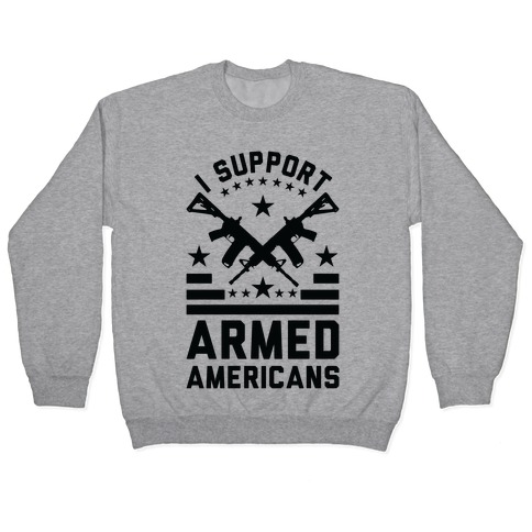 I Support Armed Americans 2nd Amendment Political USA Gift Classic T Shirt Tee