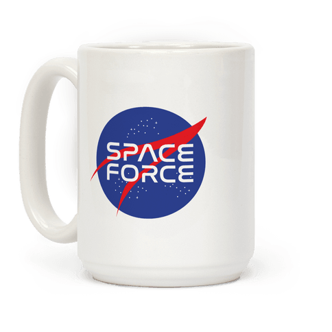 Space Force Parody Coffee Mug