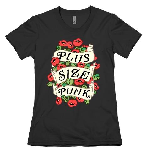 Plus Size Punk Womens T-Shirt