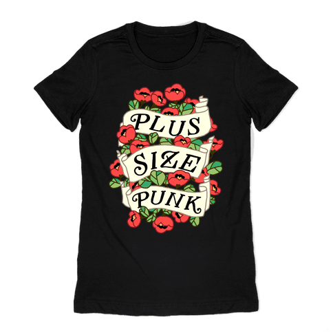 Plus Size Punk Womens T-Shirt