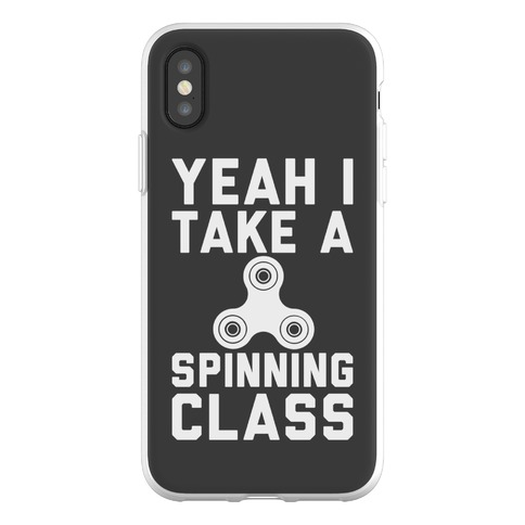 Yeah I Take A Spinning Class Phone Flexi-Case