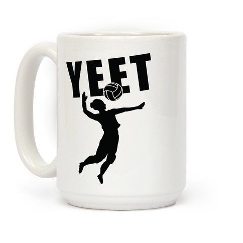 Volleyball YEET Coffee Mug