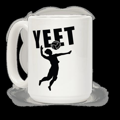 Volleyball YEET Coffee Mug