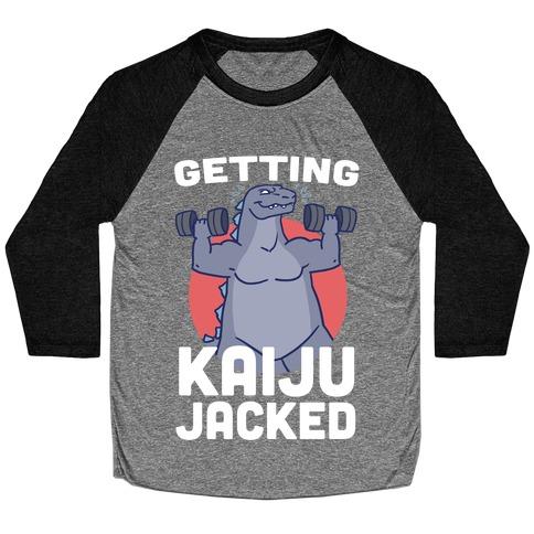 Getting Kaiju-Jacked Baseball Tee