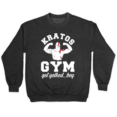 Kratos Gym Get Yolked Boy Pullover