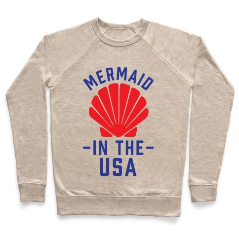 Mermaid In The USA Pullover