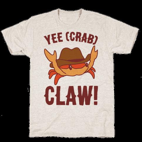 Yee Crab Claw Yee Haw Crab Parody Mens/Unisex T-Shirt