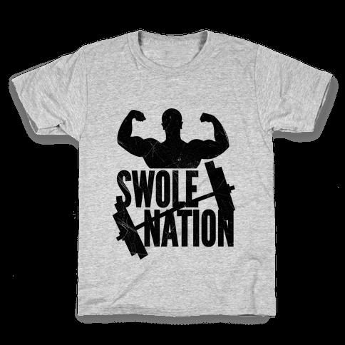 Swole Nation Kids T-Shirt