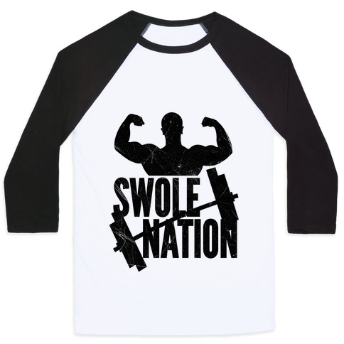 Swole Nation Baseball Tee