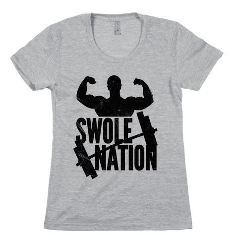 Swole Nation Womens T-Shirt