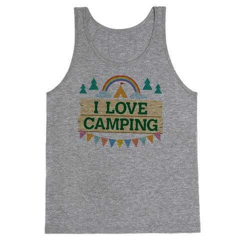 I Love Camping (Pocket Camp Parody) Tank Top