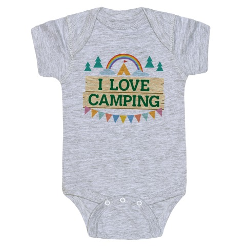 I Love Camping (Pocket Camp Parody) Baby Onesy