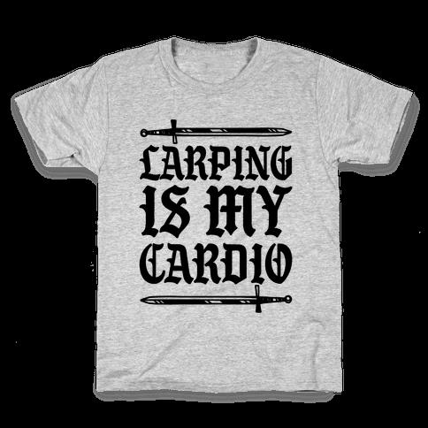 Larping Is My Cardio Kids T-Shirt