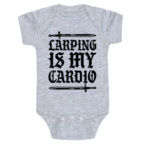 Larping Is My Cardio Baby Onesy