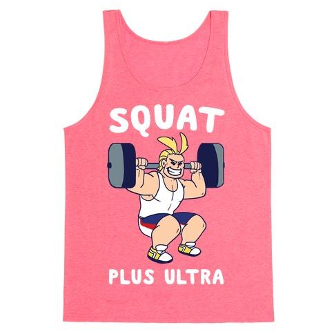 Squat Plus Ultra - All Might Tank Top