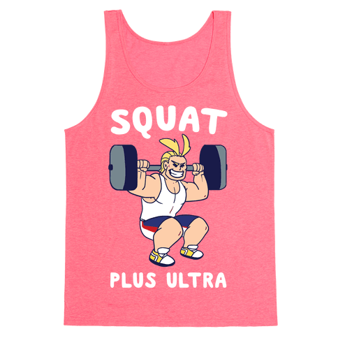 Squat Plus Ultra - All Might Tank Top