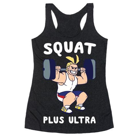 Squat Plus Ultra - All Might Racerback Tank Top