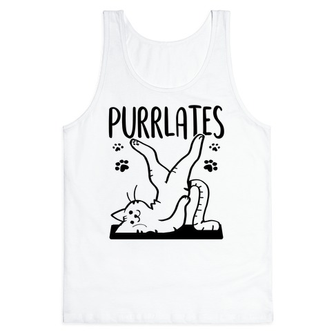 Purrlates Tank Top