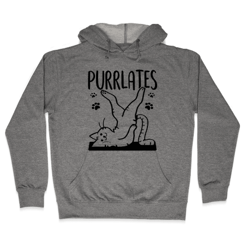 Purrlates Hooded Sweatshirt
