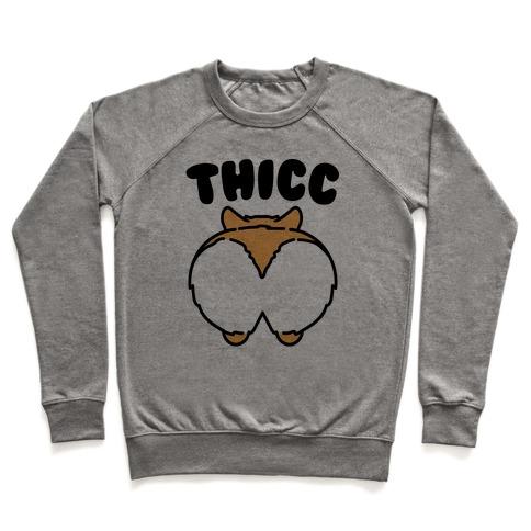 Thicc Corgi Butt Parody Pullover