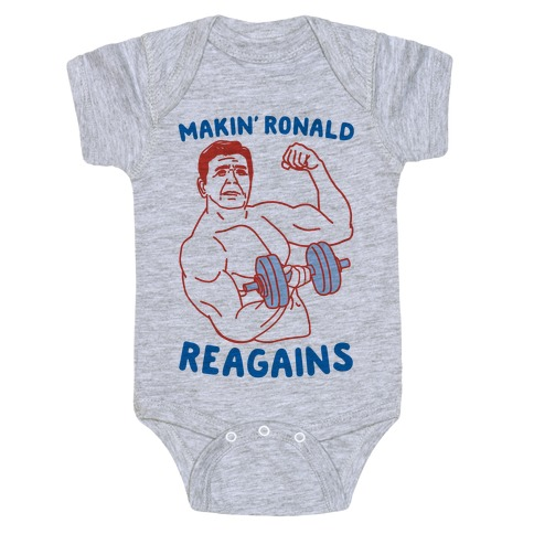 Makin' Ronald Reagains Baby Onesy