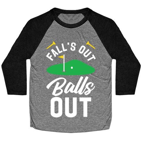 Falls Out Balls Out Golf Baseball Tee