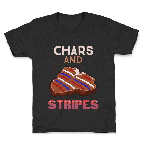 Chars And Stripes Kids T-Shirt