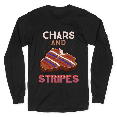 Chars And Stripes Long Sleeve T-Shirt