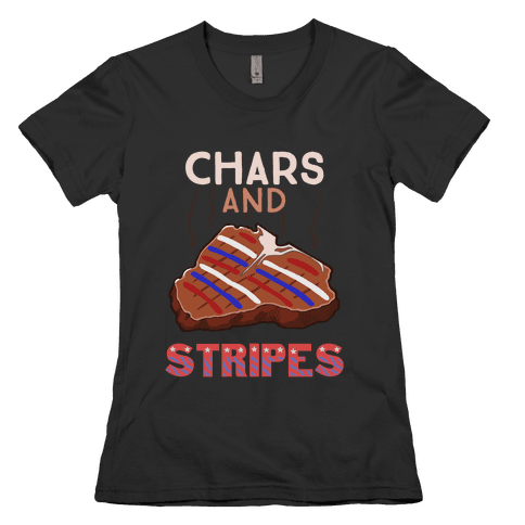 Chars And Stripes Womens T-Shirt