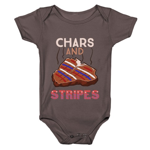 Chars And Stripes Baby One-Piece