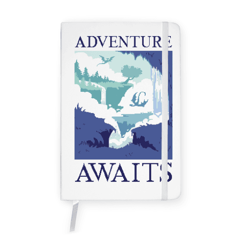 Adventure Awaits Notebook
