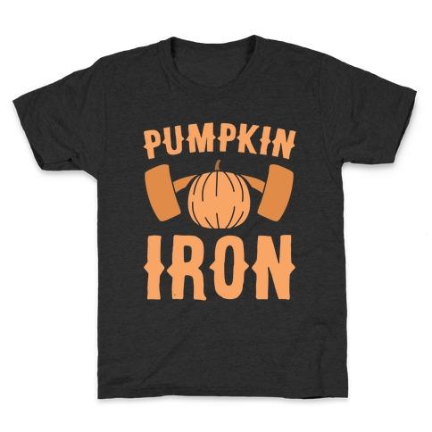 Pumpkin Iron Kids T-Shirt