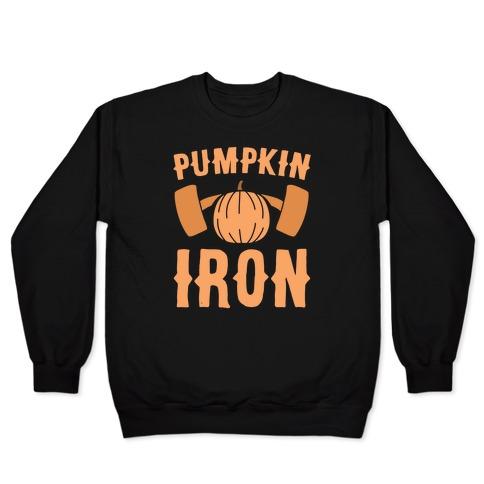 Pumpkin Iron Pullover
