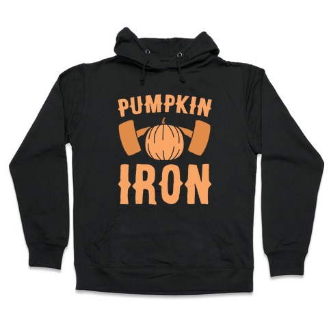 Pumpkin Iron Hooded Sweatshirt