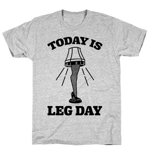 Today Is Leg Lamp Day Mens T-Shirt