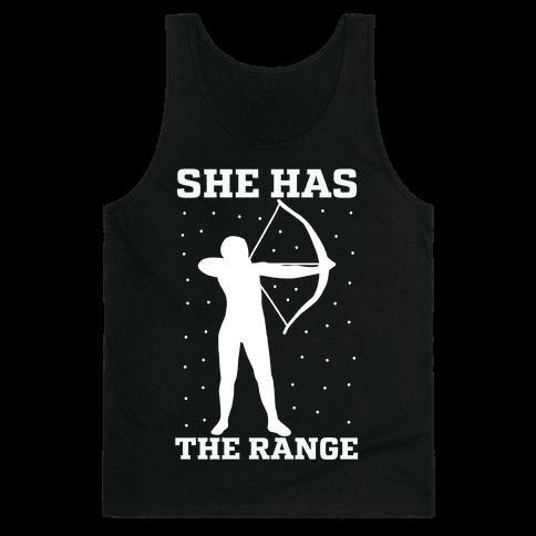 She Has the Range Tank Top