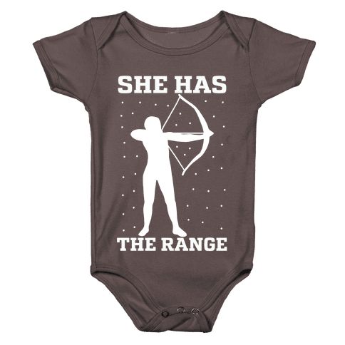 She Has the Range Baby One-Piece