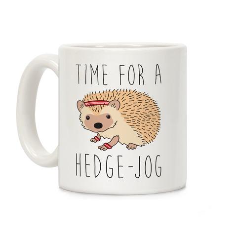 Time For A Hedge Jog Coffee Mug
