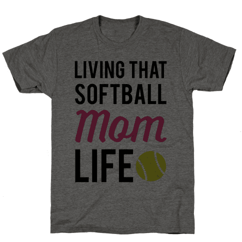 Living That Softball Mom Life Tee