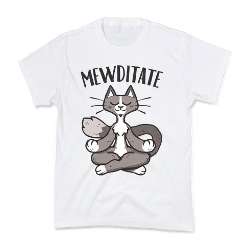 Mewditate Kids T-Shirt