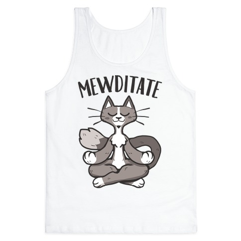 Mewditate Tank Top