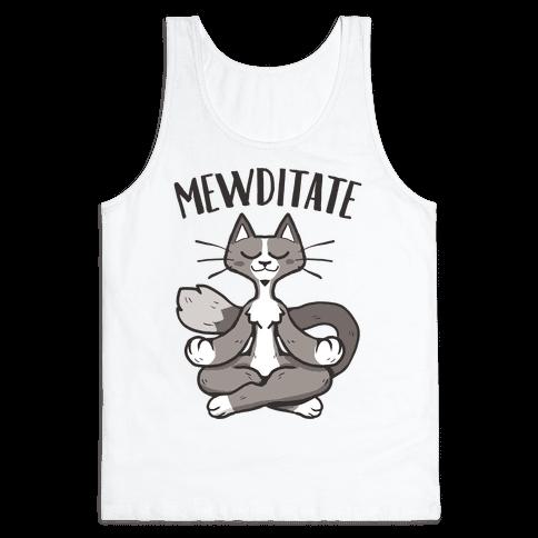Mewditate Tank Top