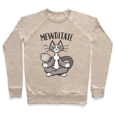Mewditate Pullover