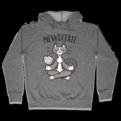 Mewditate Hooded Sweatshirt