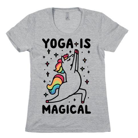 Yoga Is Magical Womens T-Shirt