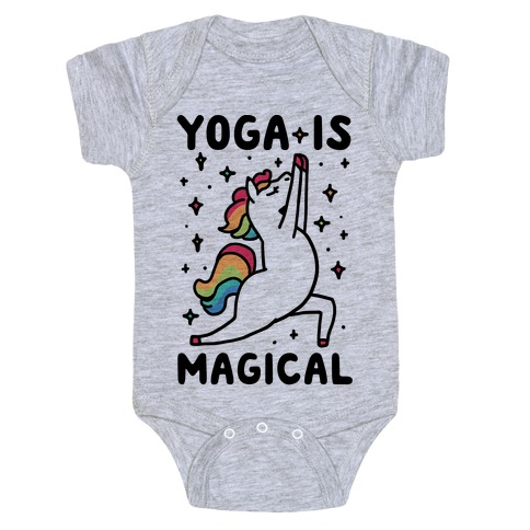 Yoga Is Magical Baby Onesy